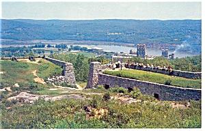 Fort Putnam West Point NY Postcard p9480 (Image1)