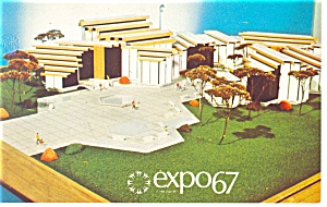 Quebec Industries Pavilion, Expo 67 Postcard (Image1)
