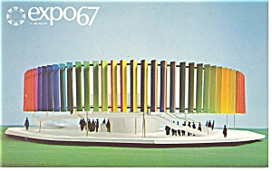 The Kaleidoscope Pavilion, Expo 67 Postcard (Image1)