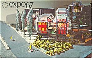 CNR Pavilion Expo 67 Postcard p9489 (Image1)