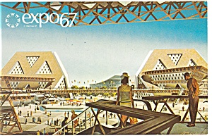 Man The Explorer, Expo 67 Postcard (Image1)