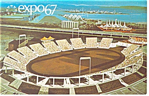 Automotive Stadium, Expo 67 Postcard (Image1)