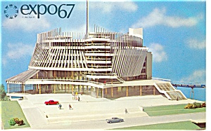 Pavilion of France, Expo 67 Postcard (Image1)