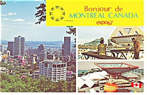 Montreal Canada Canadian Pavilion Expo 67 P9502