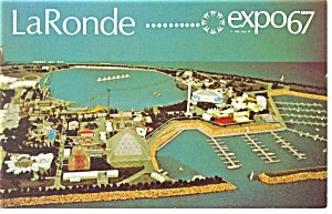 Le Ronde  Expo 67 Postcard (Image1)