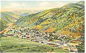 Idaho Springs CO Clear Creek Canyon Postcard p9505 (Image1)
