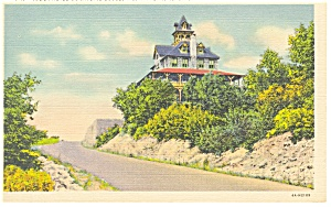 Tower Hotel, Skyline Blvd., Reading,PA Postcard (Image1)