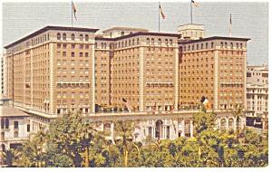 Biltmore Hotel, Los Angeles, CA Postcard (Image1)