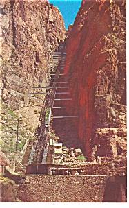 Royal Gorge CO Incline Railway Postcard p9573 (Image1)