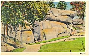 Gettysburg, PA Devil's Den Ledge Postcard (Image1)