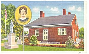 Gettysburg, PA Jennie Wade House Postcard (Image1)