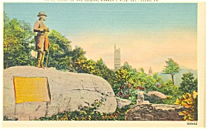 Gettysburg,PA, Little Round Top Postcard (Image1)