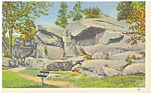 Gettysburg PA Devil s Den Postcard p9631 (Image1)