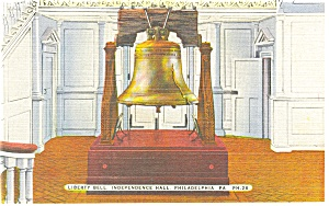 Philadelphia Pa Liberty Bell In Independence Hall P9644