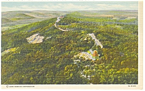 Reading ,PA, Skyline Drive Mt Penn Postcard (Image1)