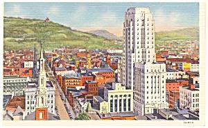 Reading PA  Berks County Court House Postcard p9650 (Image1)