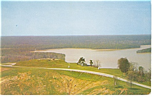 Fort Hill, Vicksburg Military Park, MS Postcard (Image1)