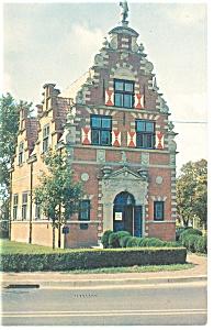 Zwaanendael House Lewes DE Postcard p9666 (Image1)