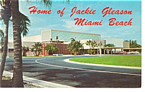 Miami Beach Fl Convention Hall Postcard P9679
