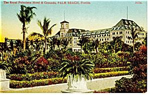 Royal Poinciana Hotel Palm Beach FL Postcard p9684 (Image1)