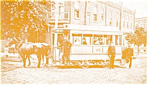 Reading, PA, Reading Street Railway Car Postcard (Image1)