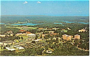 Aerial View of Clemson University, SC Postcard (Image1)