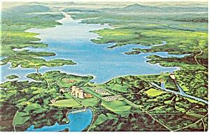 Duke Power Facility Seneca SC Postcard p9731 (Image1)