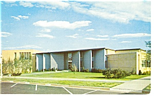 Fine Arts Bldg Bob Jones University Postcard p9732 (Image1)