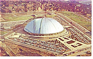 Pittsburgh PA  Civic Auditorium Postcard p9747 1965 (Image1)