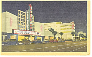 The Palladium Hollywood CA Postcard p9756 1950 (Image1)