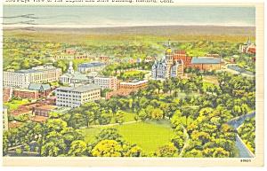 State Capitol Hartford CT  Postcard p9766 1942 (Image1)