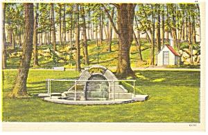 Gettysburg PA Spangler s Spring Postcard p9778 (Image1)