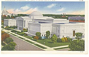 Washington, DC, National Gallery Of Art Postcard 1954 (Image1)