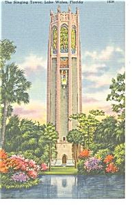 Lake Wales FL The Singing Tower Postcard p9867 (Image1)