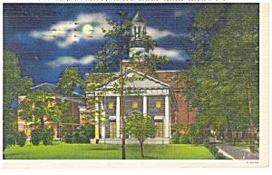 Columbia, SC Benedict College Postcard 1944 (Image1)