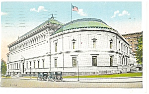 Washington, DC, Corcoran Art Gallery Postcard (Image1)