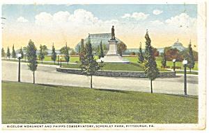 Pittsburgh PA Schenley Park Postcard p9927 1919 (Image1)