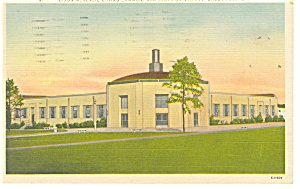 Charleston,SC, Bob Jones University Postcard 1959 (Image1)