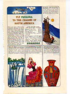 Panagra Charms Of South America Ad