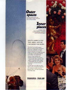 Panagra Outer Spaces Inner Places Ad