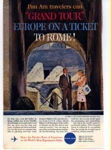 Pan Am Grand Tour Ad Panam20