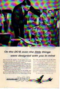 Douglas DC-8 Jetliner Little Things Ad (Image1)