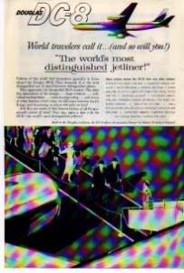 Douglas DC-8 Distinguished Jetliner Ad (Image1)