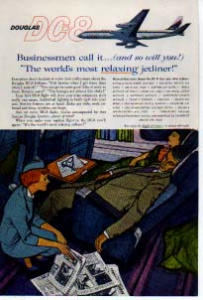 Douglas DC 8 Relaxing Jetliner Ad planes04 (Image1)