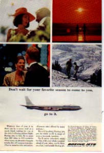 Boeing Flying To Your Favorite Season Ad