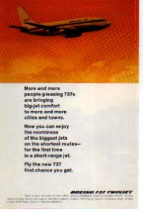 Boeing 737 Twinjet Ad