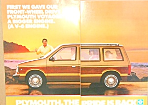 Plymouth Voyager Minivan Front Wheel Drive Ply001