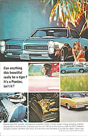 1966 Pontiac GTO Tempest Le Mans Ad pont22 (Image1)
