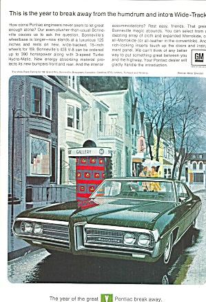 1969 Pontiac Bonneville 4 Door pont025 (Image1)