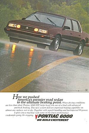 Pontiac 6000 STE 4 Door pont026 (Image1)